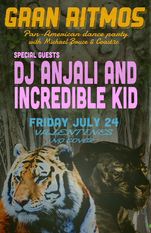 Gran Ritmos with DJ Anjali and Incredible Kid